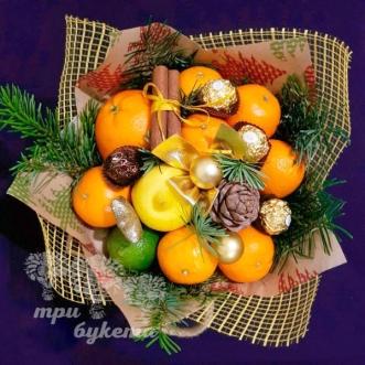 novogodnij-buket-citrusovyj